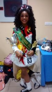 Ellena Nsajja, Under 15 European Champion