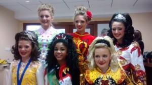 McGahan Lees Dancers at the European Championships, 2015