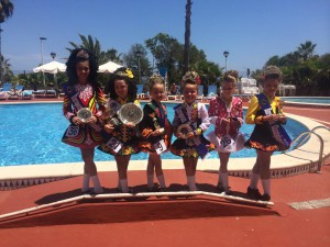 Young McGahan Lees championship at the 2015 European Championships in Spain.