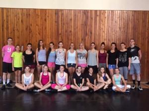 Dancers from Prague, Czech Republic