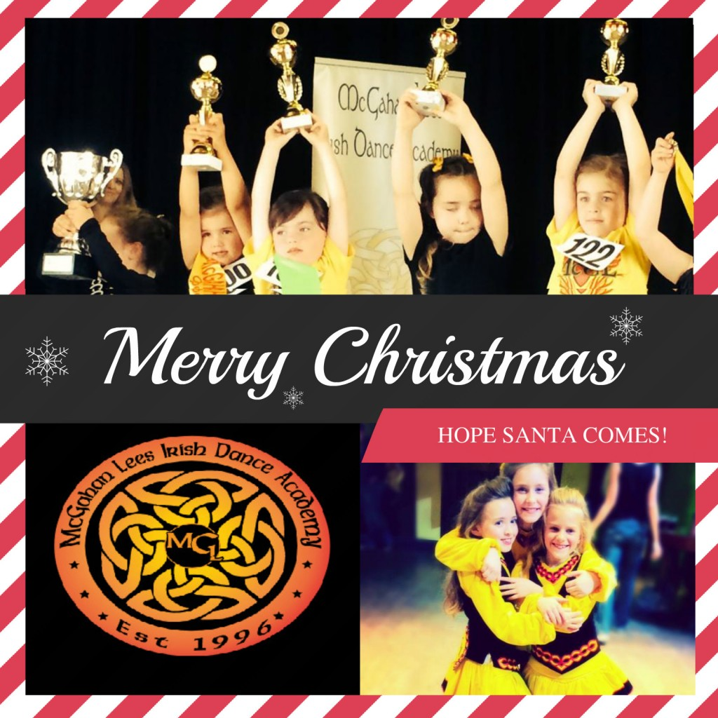 Wishing all our dancers and their families a very happy Christmas. Have a good break and see you next year!