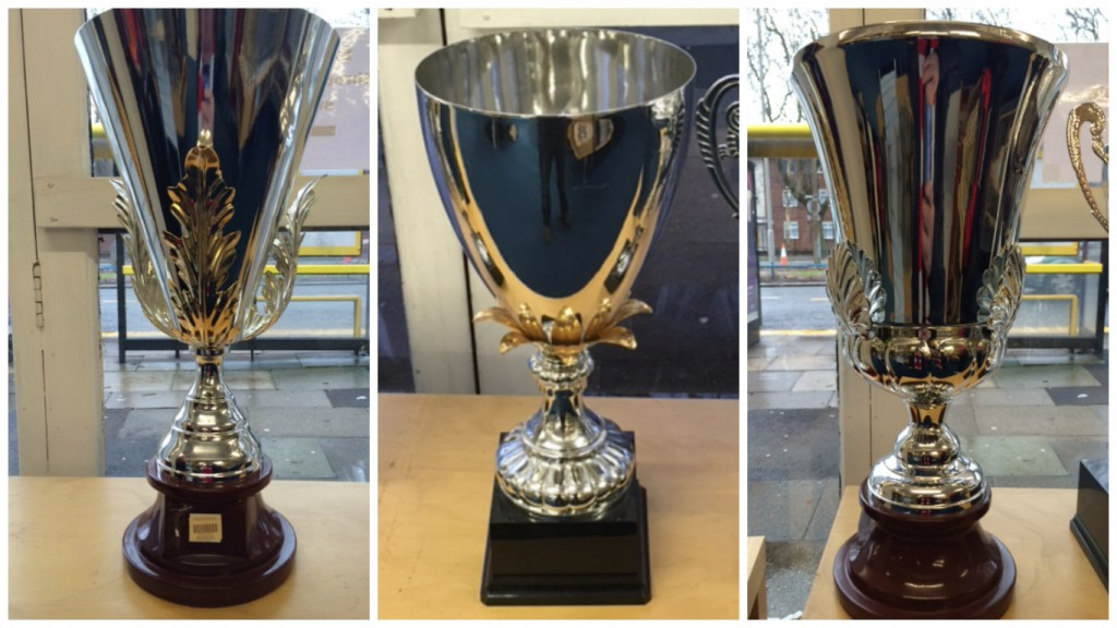 Our Hand-made Championship Cups